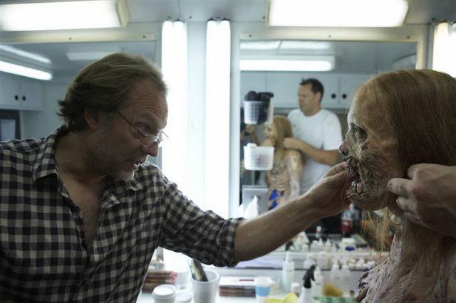20 fotos curiosas dos bastidores de The Walking Dead (1)