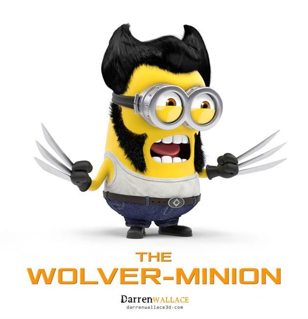 Minions-fantasiados-Wolverine