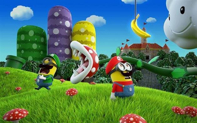 Minions-fantasiados-Mario-Bros