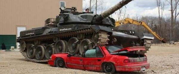 tanksmashcar