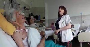 Como esta médica canta para seus pacientes terminais demonstra o carinho que ela tem por eles   História de vídeo