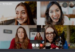 Escondendo a bagunça: agora é possível desfocar o fundo nas chamadas de Skype