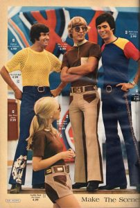 Matching His And Her Fashion 1970