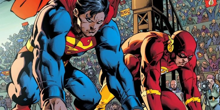Superman Flash corrida