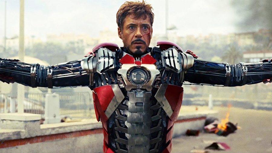 Homem Ferro armadura maleta