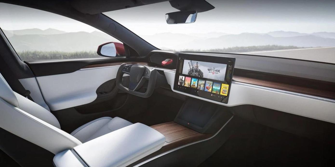 Tesla Model S Cyberpunk
