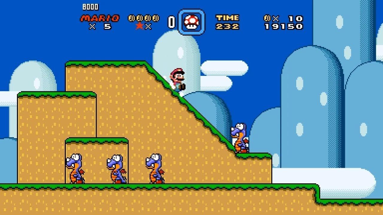 Super Mario World Widescreen